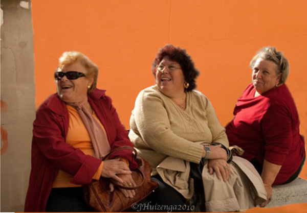 Trio of Sicilian Ladies