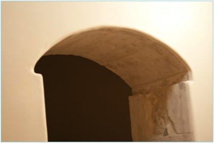 Arch in House in Ragusa Ibla, Sicily, Copyright Jann Huizenga