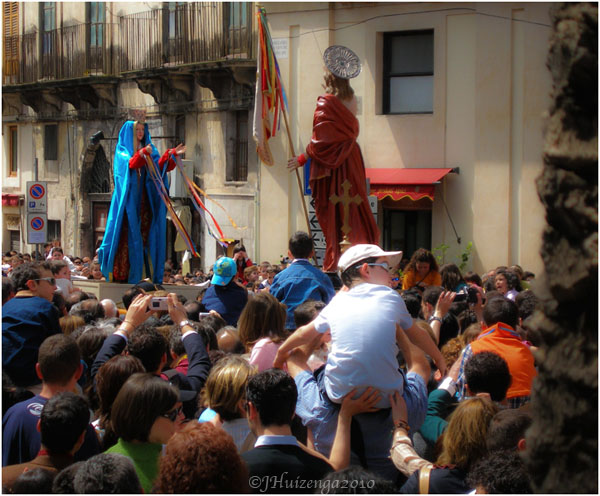 Easter Celebration in Modica, Sicily, copyright Jann Huizenga