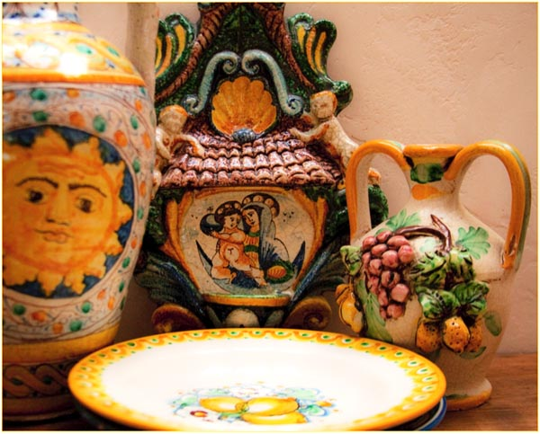 Caltagirone Ceramics, photo by Jann Huizenga