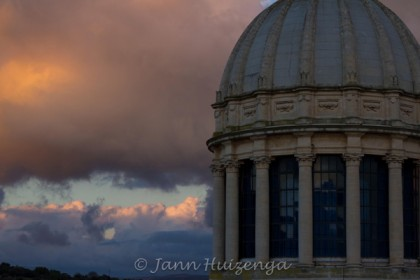 Cupola of the duomo in Ragusa Ibla, Sicily, copyright Jann Huizenga