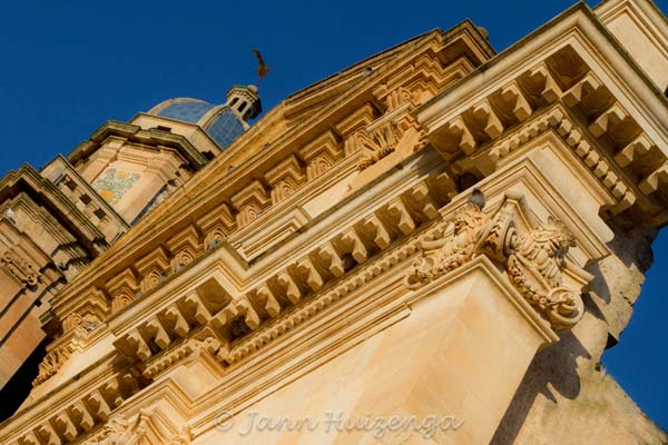 Baroque Church in Southeast Sicily, copyright Jann Huizenga