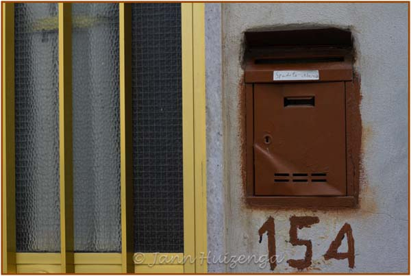 House Numbers in Sicily, copyright Jann Huizenga