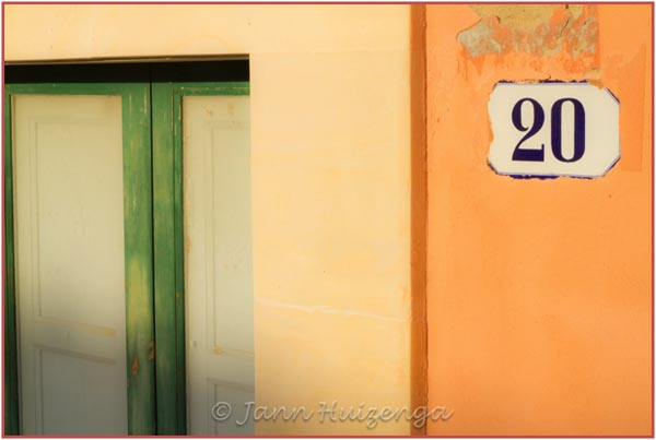 Street Address, Sicily, copyright Jann Huizenga
