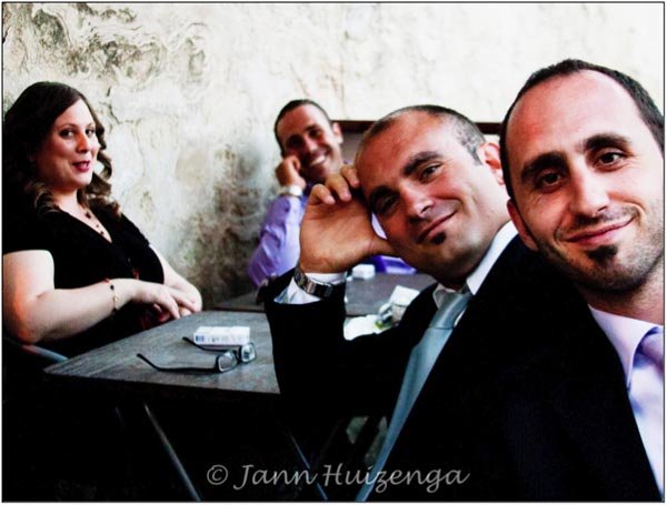 Four Sicilians, copyright Jann Huizenga