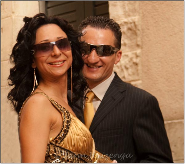 Sicilian Couple, copyright Jann Huizenga