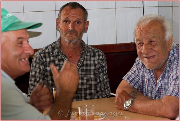 Maltese Men, copyright Jann Huizenga