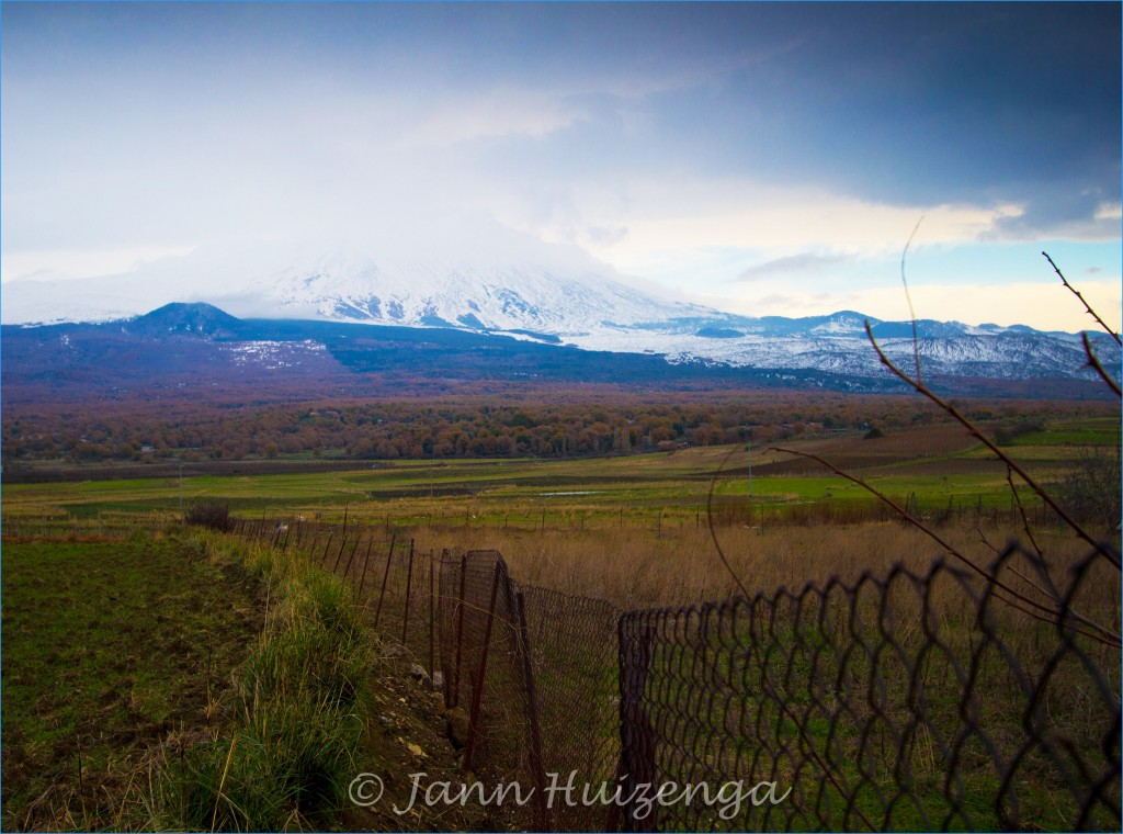 Mount Etna in December, Sicily, copyright Jann Huizenga