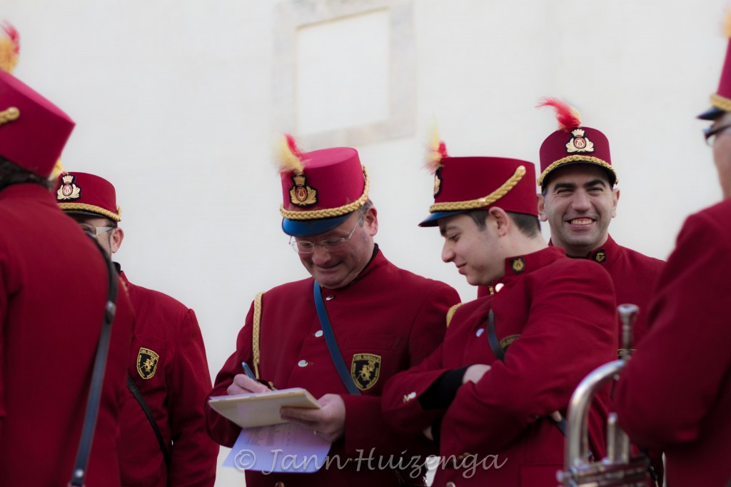 Band Members at the Feast of the Immaculate Conception in Scicli, Sicily, Dec 8, 2011