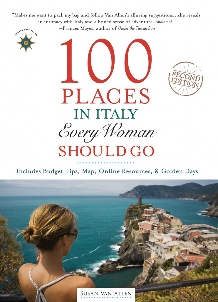 Cover, 100 Places in Italy Every Woman Should Go, by Susan Van Allen