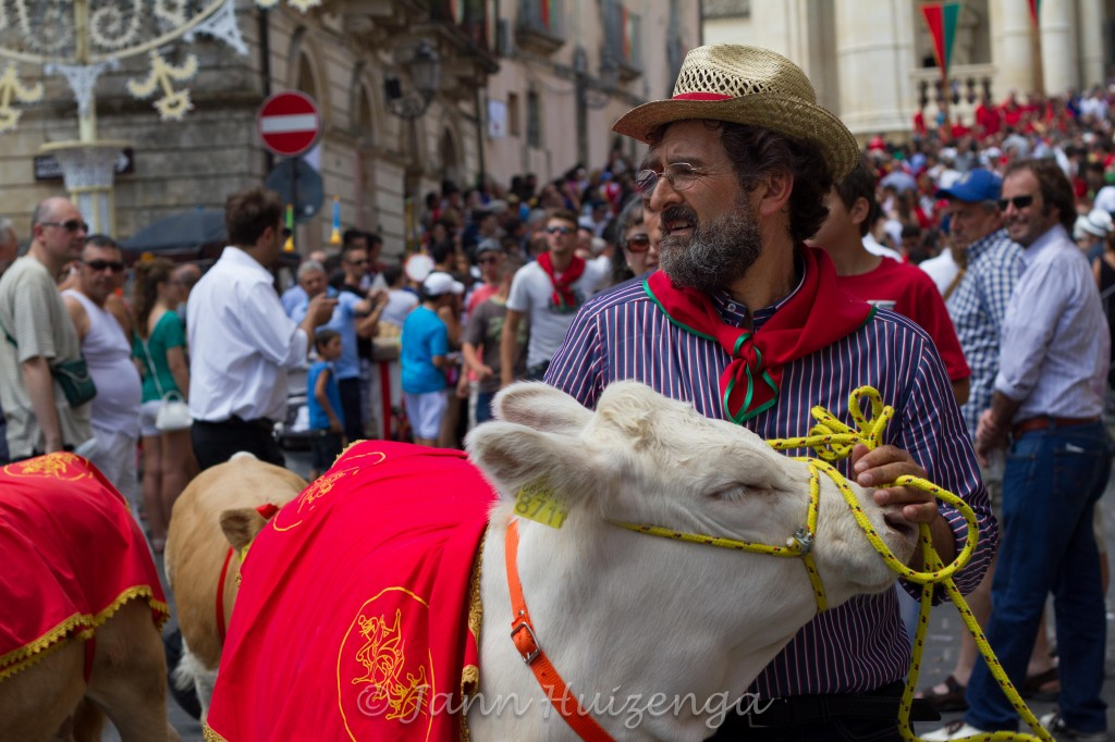 Animals Blessed at Festa di San Paolo in Palazzolo Acreide, copyright Jann Huizenga
