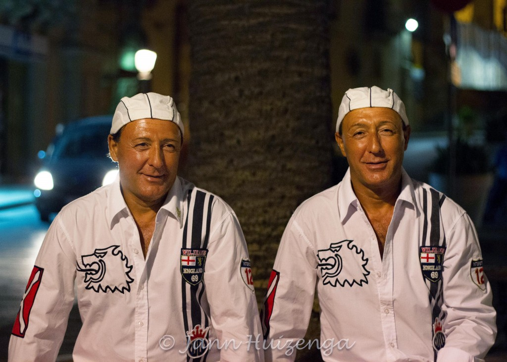 Twins in Sicily, copyright Jann Huizenga