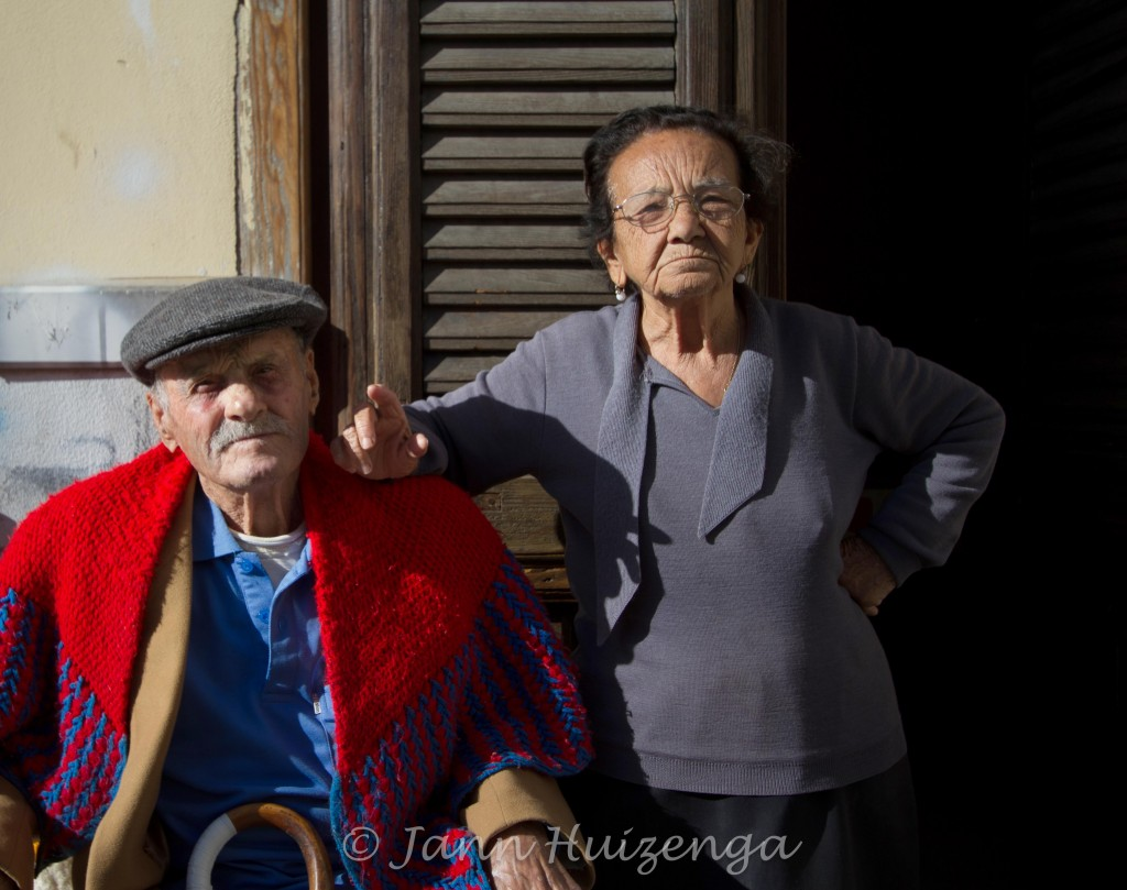Dorotea and Paolo in Palermo, copyright Jann Huizenga
