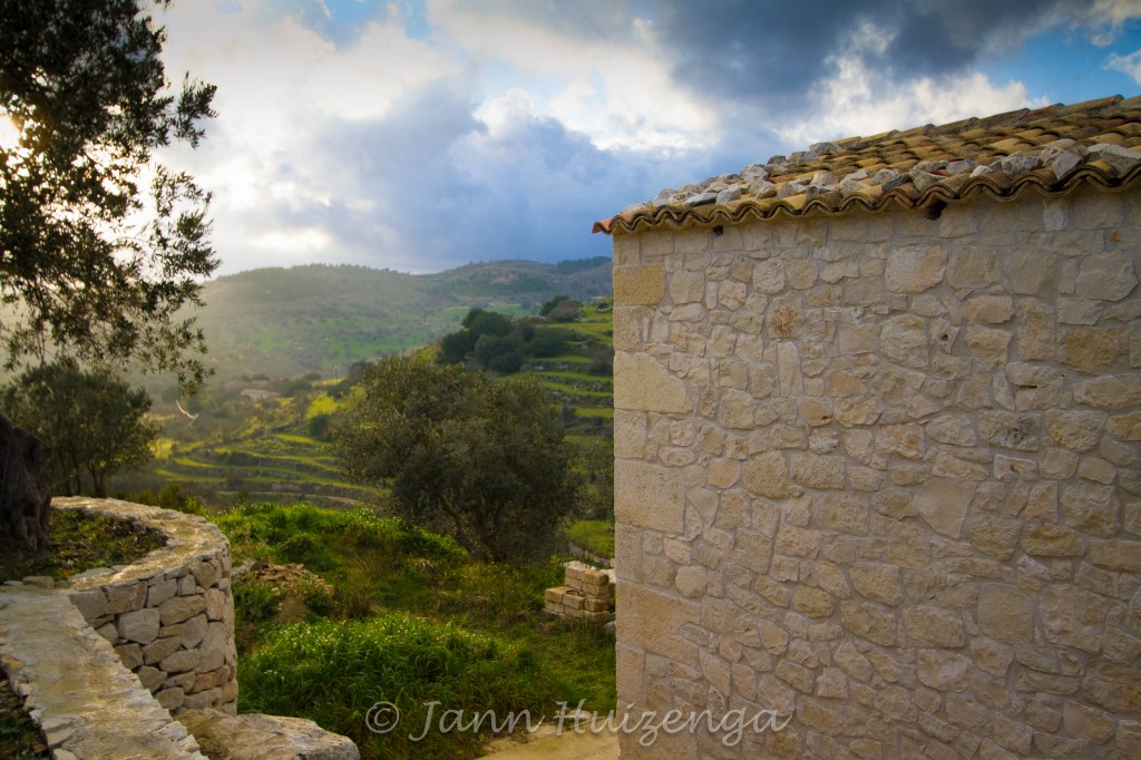 A renovated stone house in Sicily, copyright Jann Huizenga