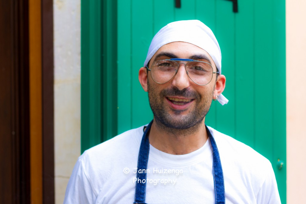 Giovanni, Bread Baker at I BANCHI, copyright Jann Huizenga